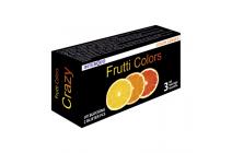 Цветные контактные линзы Frutti Crazy Карнавальные линзы трех месячного ношения