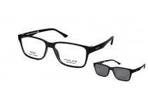 Polar 403 c 76 CLIP-ON Коррекционные очки c солнцезащитными клипсами