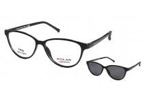 Polar 404 c 77 CLIP-ON Коррекционные очки c солнцезащитными клипсами