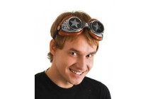 Steampunk Captain America Radioactive Goggles Adult Costume Accessory New с/з
