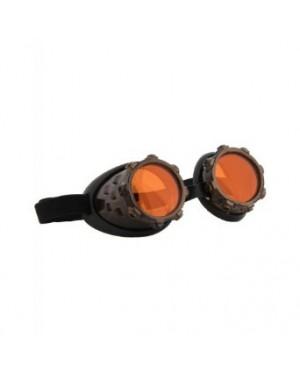 Steampunk Cyber Steam Goggles Colf Orange с/з