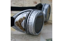 Steampunk Goggles Glasses lens Victorian biker pirate с/з